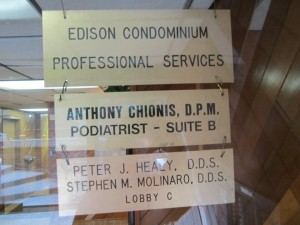 Foot Doctor Chionis Bronx New York Office